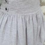 jupe étamine détail