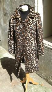 manteau panthère face
