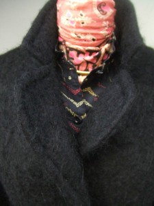 veste mohair robe