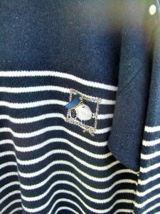 pull marin snoopy broderie (2)