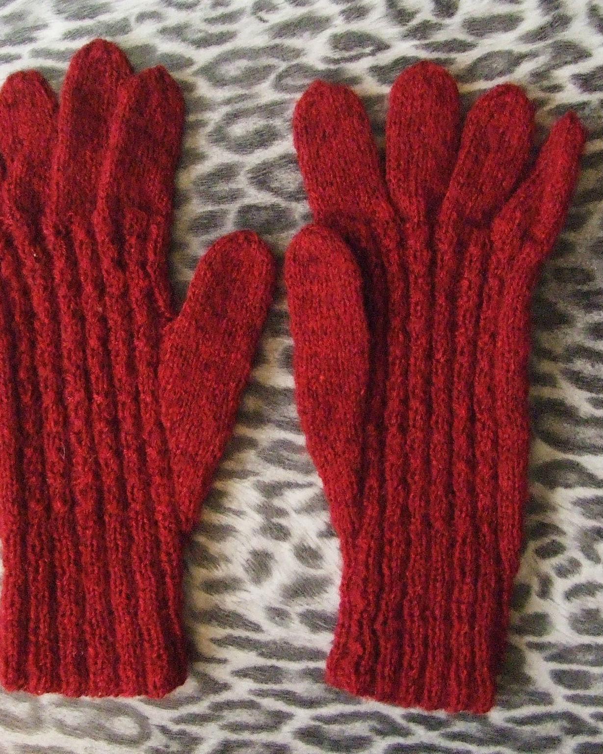 gants en laine grenat quiche lorraine vintage. Black Bedroom Furniture Sets. Home Design Ideas