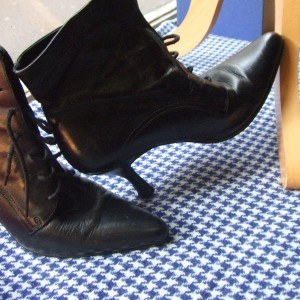 bottines carrées