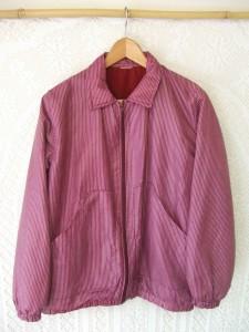 blouson coton enduit