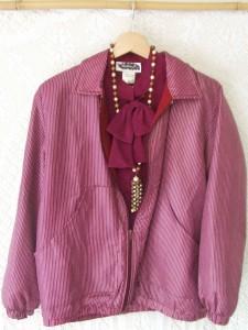blouson vintage coton enduit
