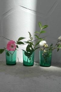 fleurs verres ptr