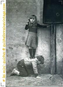 les miniquiches vintage enfants