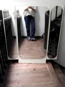 miroir triptyque rectangulaire