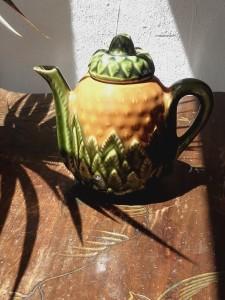 théière ananas