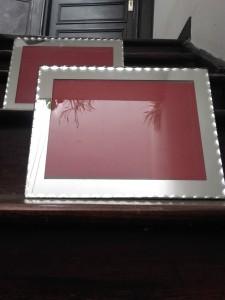 cadres miroir ciselé