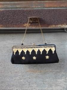 sac chainette brodé