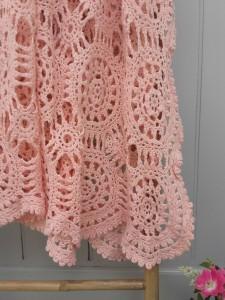 couvre-lit crochet