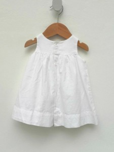 robe bb blanche 2