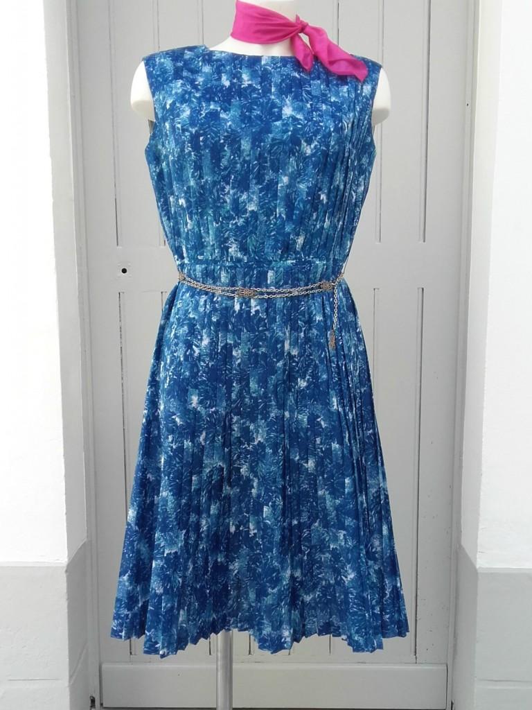 robe 60s plissée