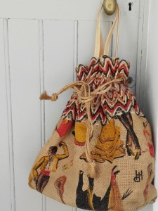 sac cabas flamenco
