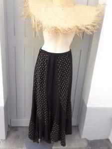 jupe ultra longue 70s