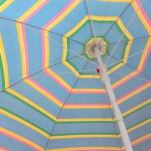 parasol rayures & franges