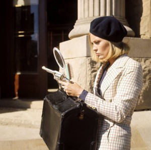 Fantastic Faye Dunaway in Bonnie and Clyde directed by Arthur Penn, 1967