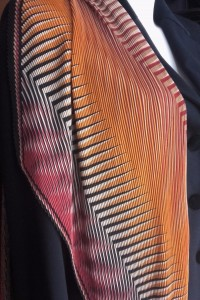 foulard plissé 2
