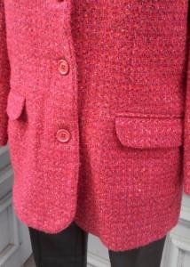tweed framboise 13
