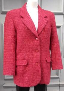tweed framboise 23