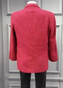tweed framboise 32