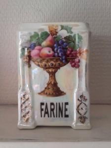 vase bohème pot farine