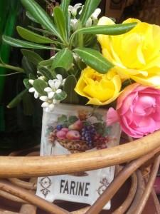 pot bohème bouquet bohème