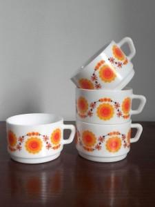 tasses Arcopal soleil