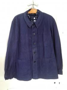 veste bleu de travail vintage workwear snc st james quiche lorraine vintage. Black Bedroom Furniture Sets. Home Design Ideas