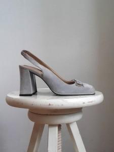 chaussures Charles Jourdan daim