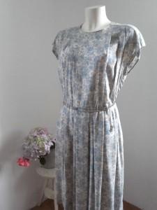 robe à fleurs vintage