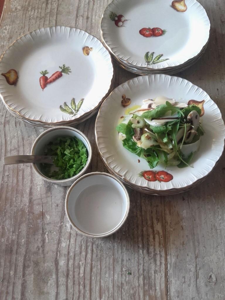 assiettes légumes 12