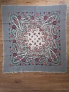 foulard bohème en laine
