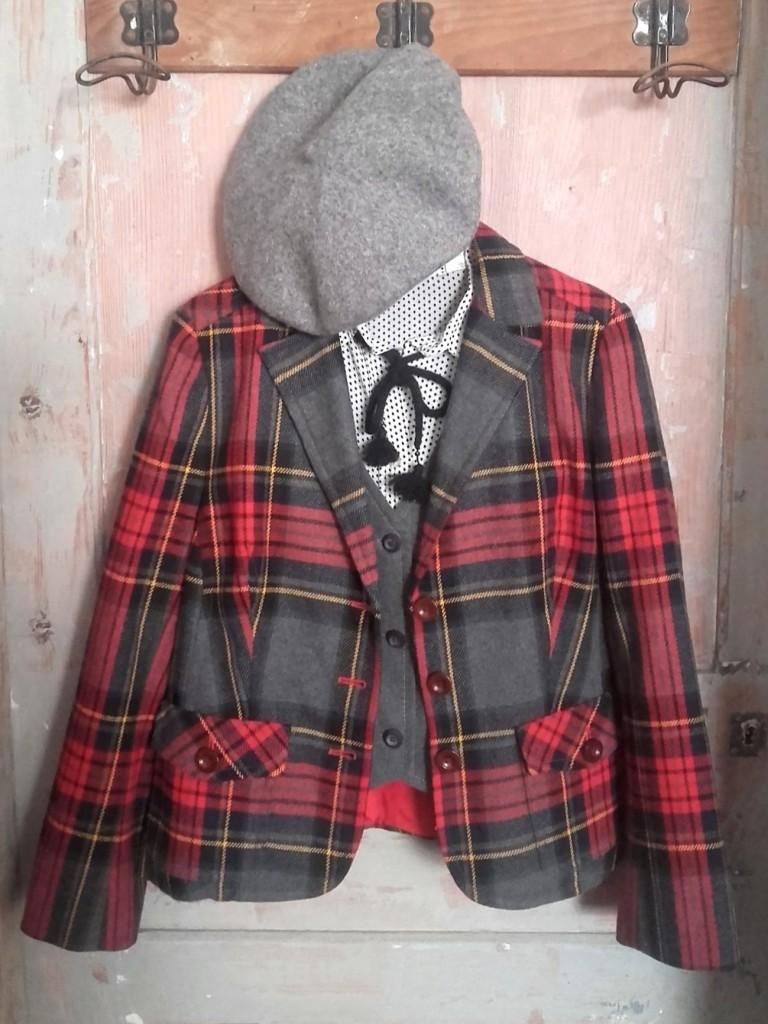 veste écossaise Devernois