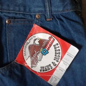 etiquette jean 80s quenk