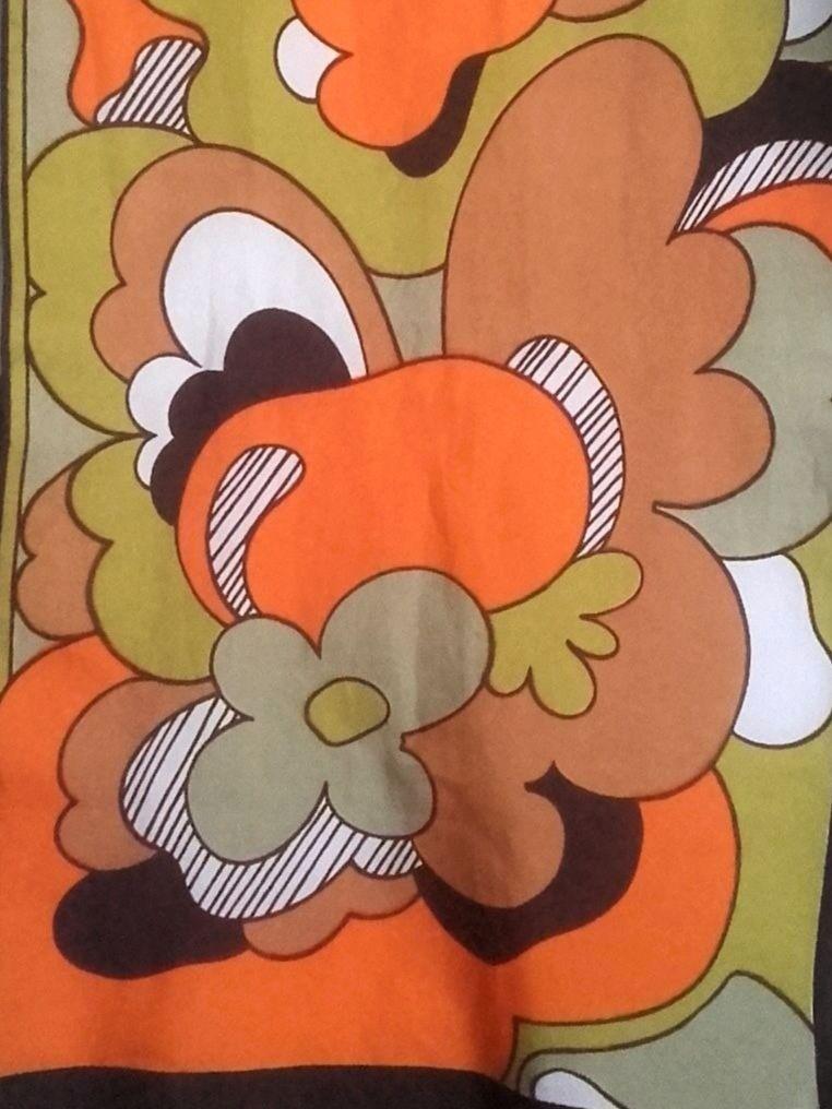 foulard 70s psychédélique