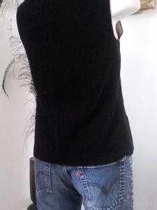 gilet velours noir 2