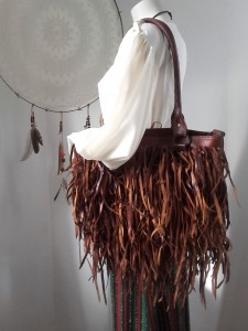 jupe longue sac franges 12