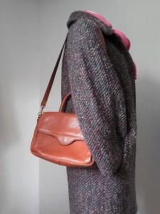 manteau multicolore sac