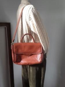 sac cuir Lorenzo vintage