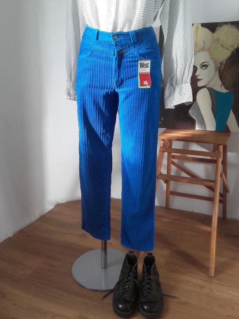 pantalon velours 80s West