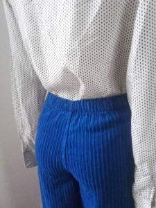 pantalon velours 80s West