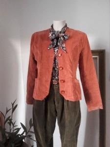 veste velours cotelé Felino veste velours vintage