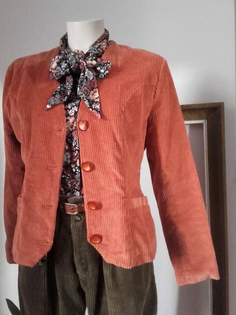 veste velours Felino veste velours vintage