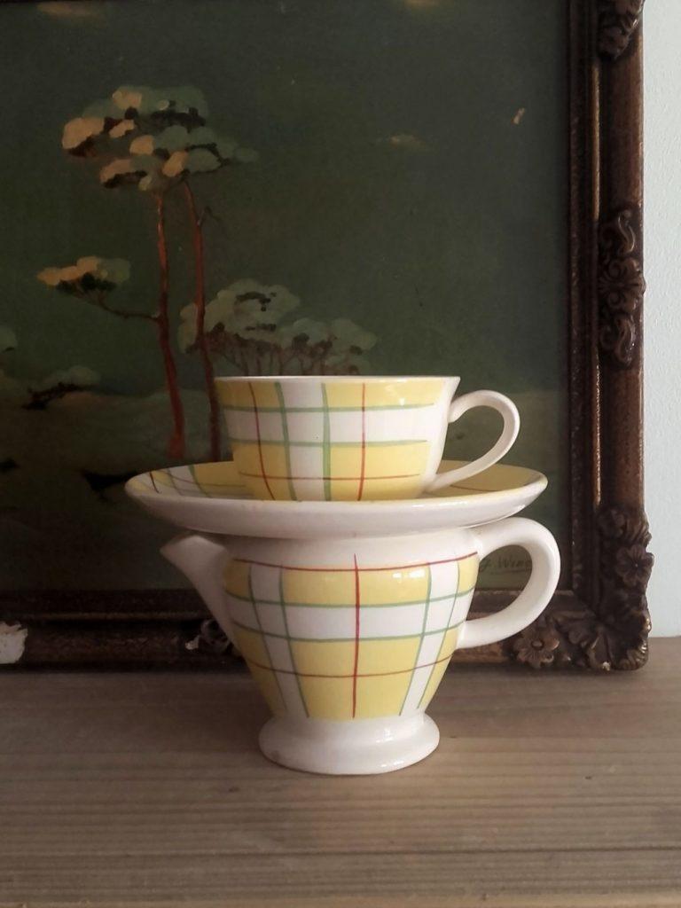 ensemble café salins france hossegor jaune
