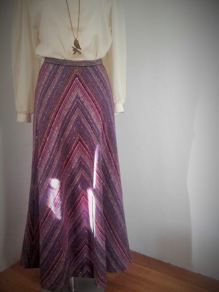 jupe nina ricci vintage jupe longue vintage