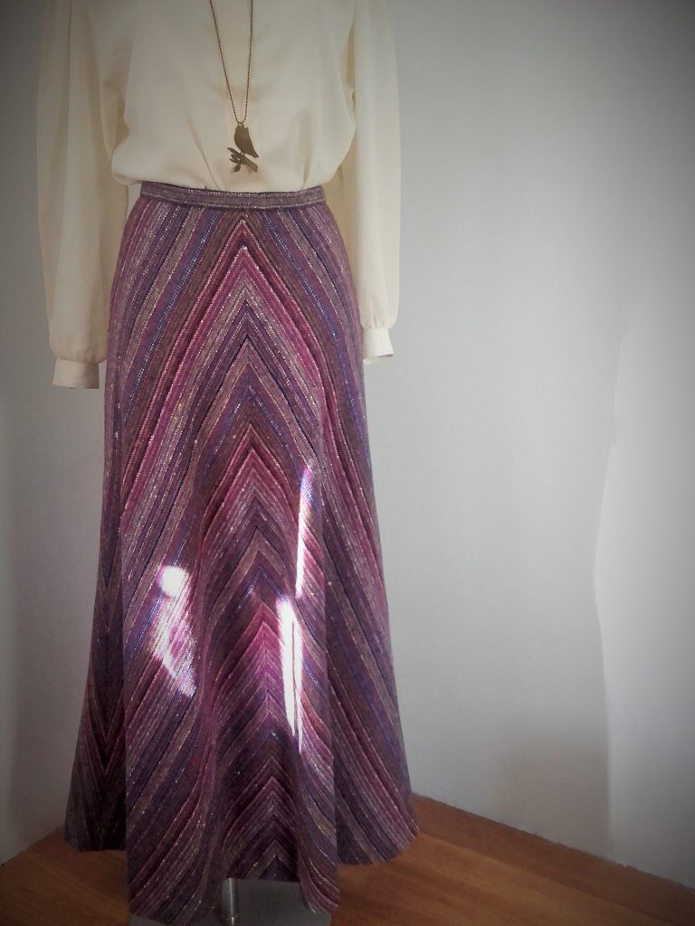 jupe longue Nina Ricci Vintage