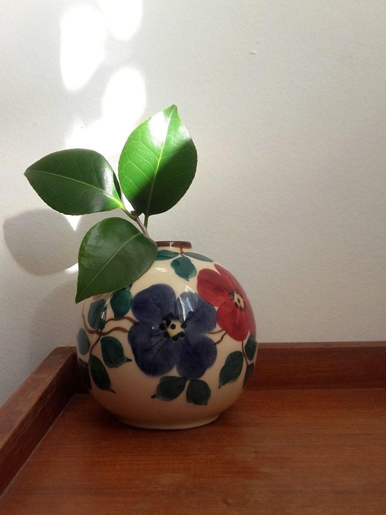 vase boule St Clément vase vintage