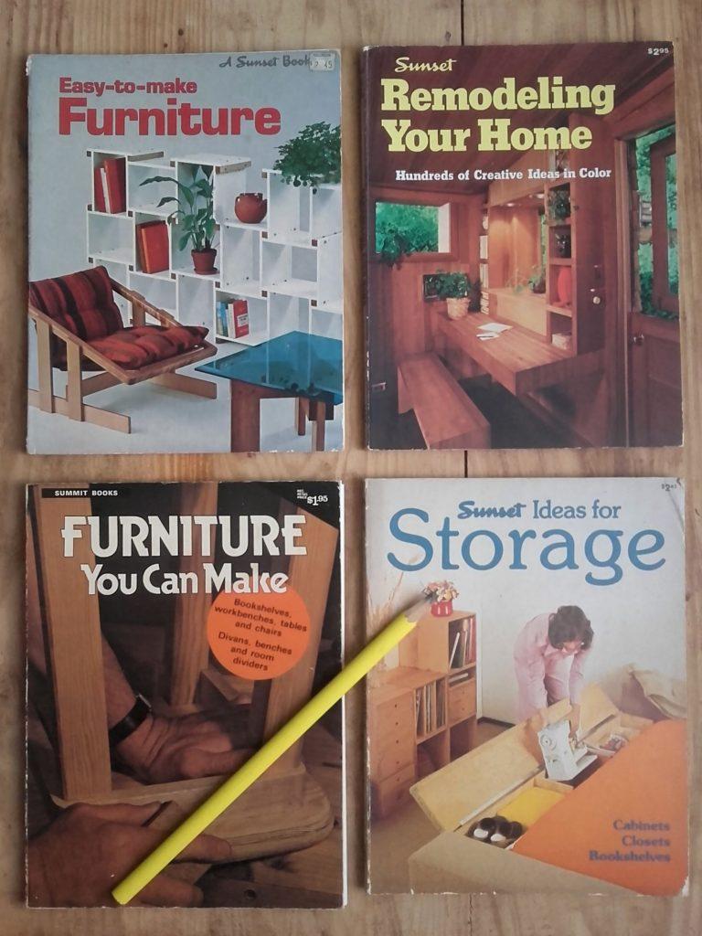 DIY furniture books 70s design